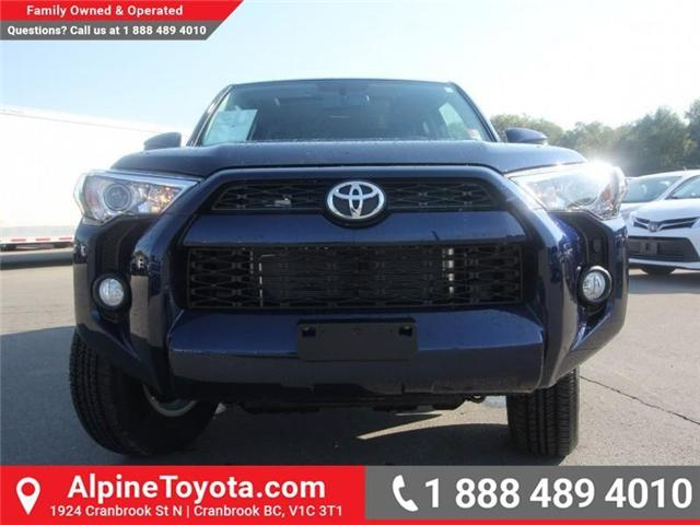 2018 Toyota 4Runner SR5 (Stk: 5606357) in Cranbrook - Image 8 of 18