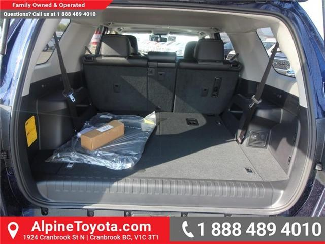 2018 Toyota 4Runner SR5 (Stk: 5606357) in Cranbrook - Image 17 of 18