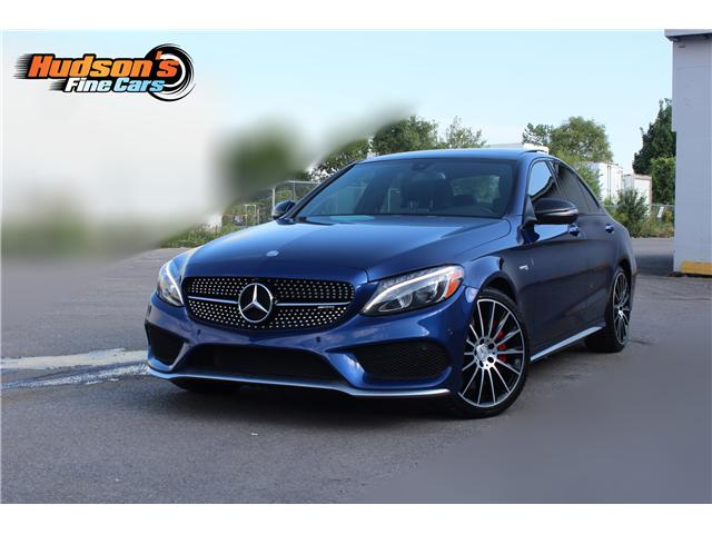 2017 Mercedes Benz Amg C 43 Accident Free Navigation Camera