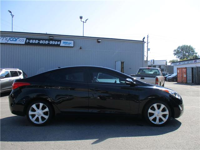 2012 Hyundai Elantra Limited (Stk: 181187) in Kingston - Image 2 of 12