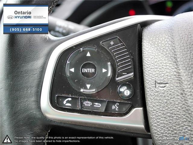 2016 Honda Civic EX-Turbo / Low Klm (Stk: 06981K) in Whitby - Image 18 of 27