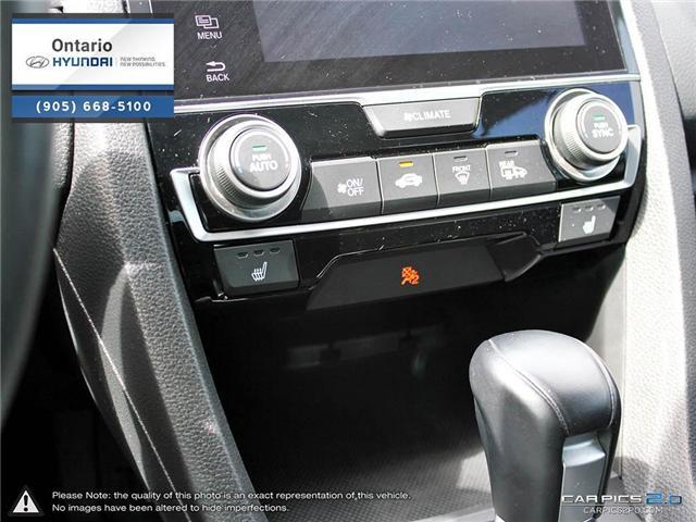 2016 Honda Civic EX-Turbo / Low Klm (Stk: 06981K) in Whitby - Image 23 of 27