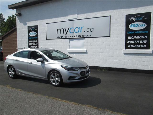 2017 Chevrolet Cruze Premier Auto (Stk: 181205) in Kingston - Image 2 of 13