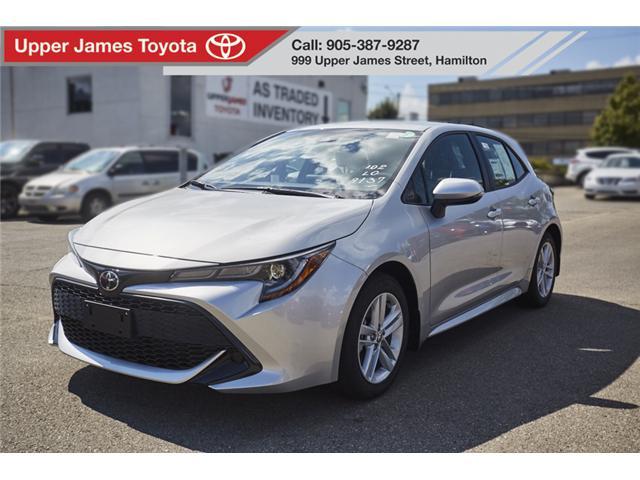 2019 Toyota Corolla Hatchback Base (Stk: 190076) in Hamilton - Image 1 of 16