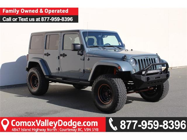 2015 Jeep Wrangler Unlimited Sahara (Stk: L515765A) in Courtenay - Image 1 of 30