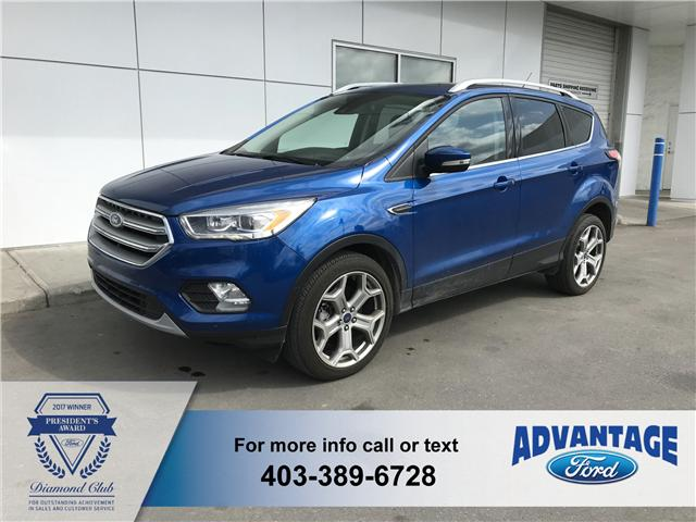 2017 Ford Escape Titanium (Stk: J-1176A) in Calgary - Image 1 of 18