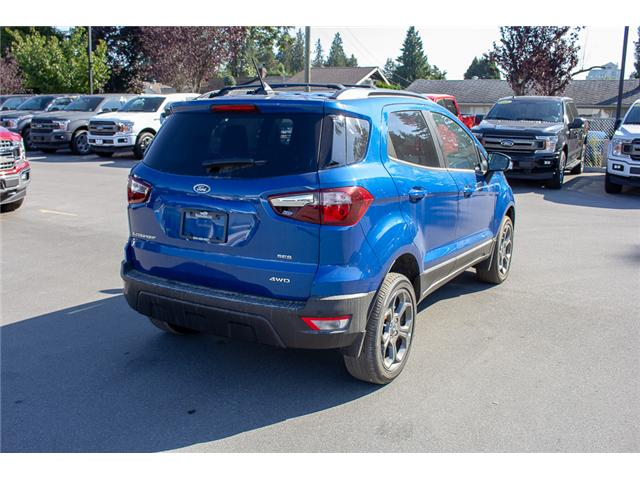 2018 Ford EcoSport SES (Stk: 8EC8863) in Vancouver - Image 7 of 22