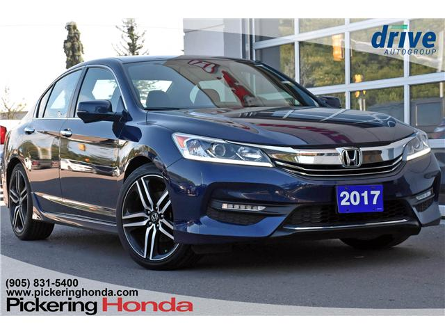 2017 Honda Accord Sport (Stk: P4302) in Pickering - Image 1 of 29
