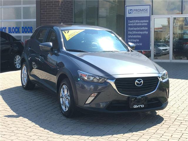 2017 Mazda CX-3 GS (Stk: 28051A) in East York - Image 1 of 29