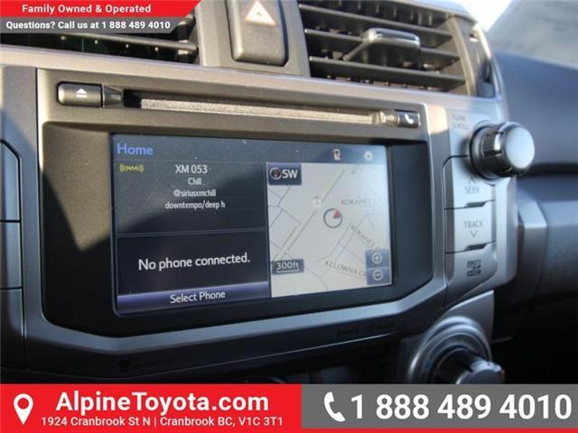 2018 Toyota 4Runner SR5 (Stk: 5602829) in Cranbrook - Image 13 of 18