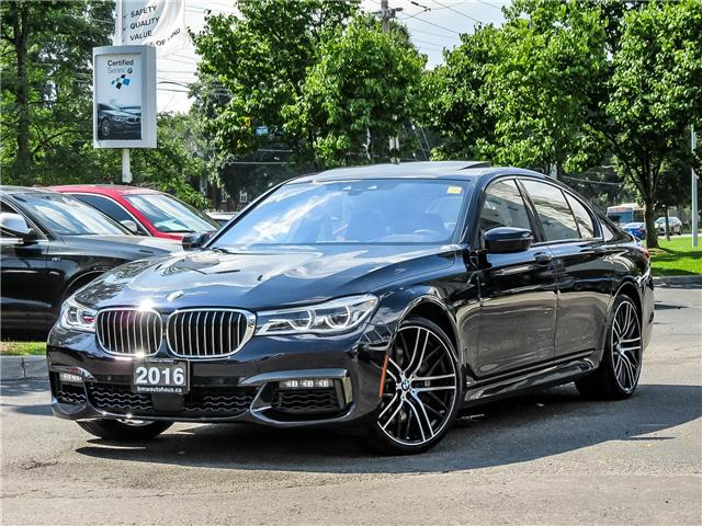 2016 BMW 750i xDrive (Stk: P8488) in Thornhill - Image 1 of 29