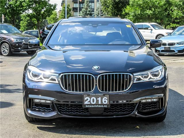 2016 BMW 750i xDrive (Stk: P8488) in Thornhill - Image 2 of 29