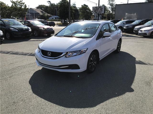 2015 Honda Civic EX (Stk: U11623) in Lower Sackville - Image 1 of 14