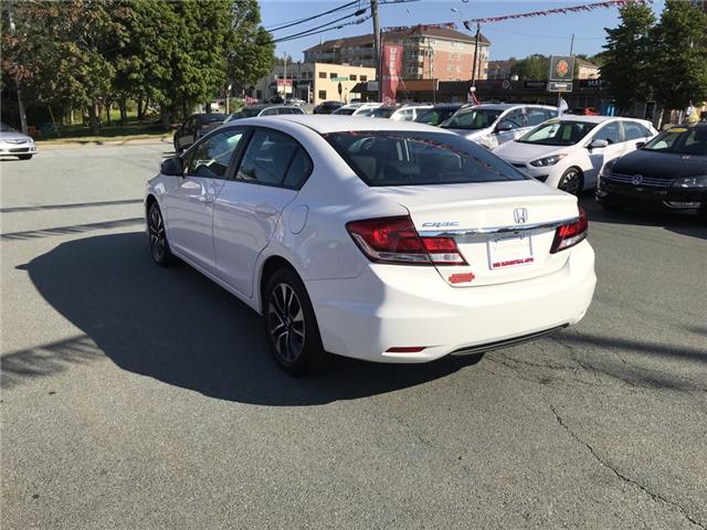 2015 Honda Civic EX (Stk: U11623) in Lower Sackville - Image 3 of 14