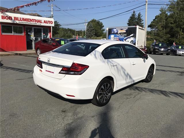 2015 Honda Civic EX (Stk: U11623) in Lower Sackville - Image 5 of 14