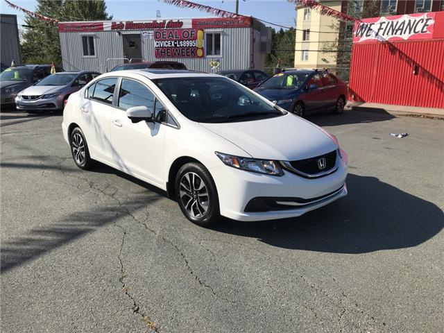 2015 Honda Civic EX (Stk: U11623) in Lower Sackville - Image 7 of 14