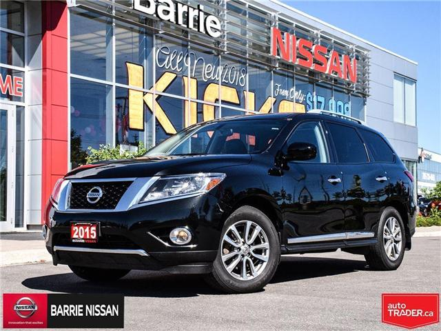 2015 Nissan Pathfinder SL (Stk: 18142A) in Barrie - Image 1 of 30