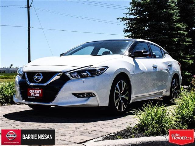2018 Nissan Maxima SL (Stk: 18125A) in Barrie - Image 1 of 21