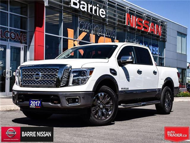 2017 Nissan Titan Platinum Reserve (Stk: P4451) in Barrie - Image 1 of 30