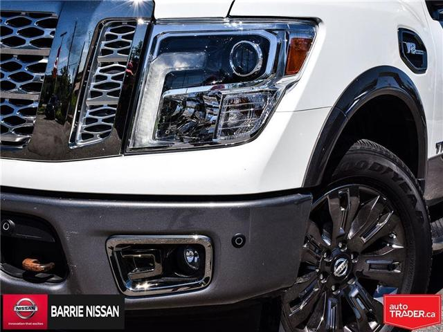 2017 Nissan Titan Platinum Reserve (Stk: P4451) in Barrie - Image 2 of 30