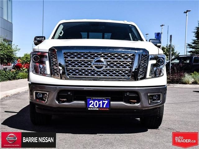 2017 Nissan Titan Platinum Reserve (Stk: P4451) in Barrie - Image 5 of 30