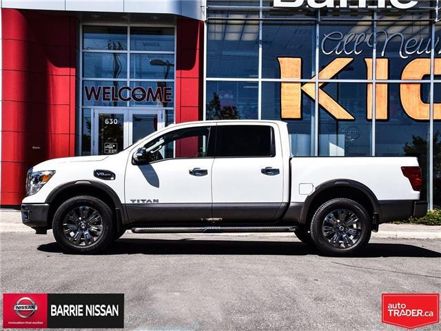 2017 Nissan Titan Platinum Reserve (Stk: P4451) in Barrie - Image 7 of 30