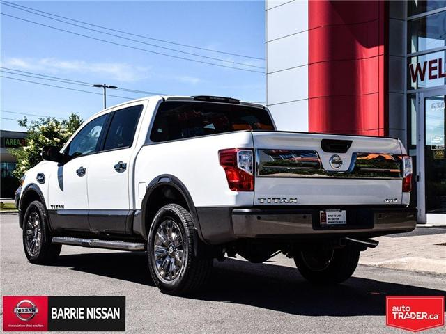 2017 Nissan Titan Platinum Reserve (Stk: P4451) in Barrie - Image 8 of 30
