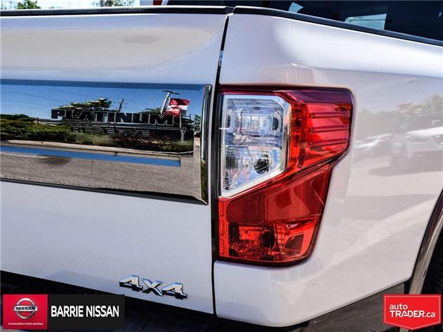 2017 Nissan Titan Platinum Reserve (Stk: P4451) in Barrie - Image 10 of 30