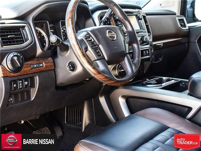 2017 Nissan Titan Platinum Reserve (Stk: P4451) in Barrie - Image 15 of 30