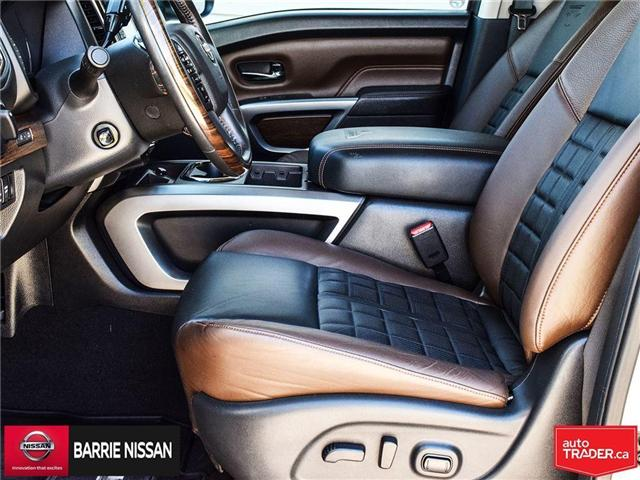 2017 Nissan Titan Platinum Reserve (Stk: P4451) in Barrie - Image 16 of 30