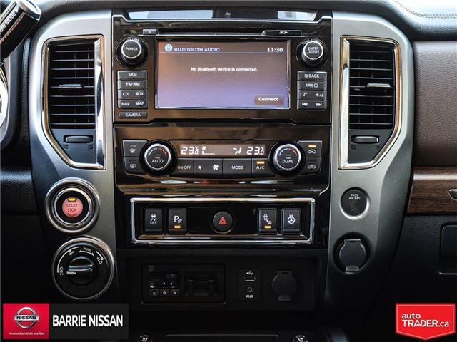 2017 Nissan Titan Platinum Reserve (Stk: P4451) in Barrie - Image 22 of 30