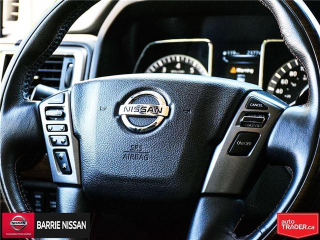 2017 Nissan Titan Platinum Reserve (Stk: P4451) in Barrie - Image 24 of 30