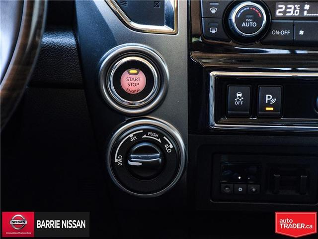 2017 Nissan Titan Platinum Reserve (Stk: P4451) in Barrie - Image 25 of 30