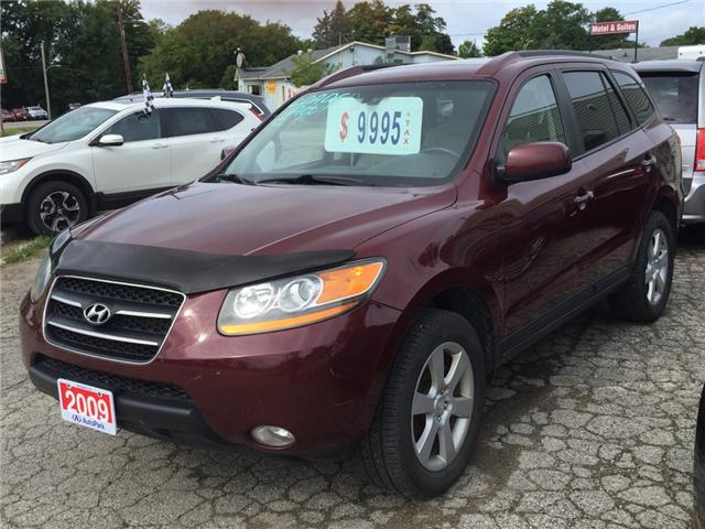 2009 Hyundai Santa Fe Limited (Stk: ) in Kincardine - Image 1 of 15