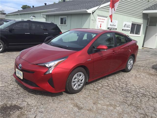 2016 Toyota Prius Base (Stk: -R07816) in Kincardine - Image 1 of 13