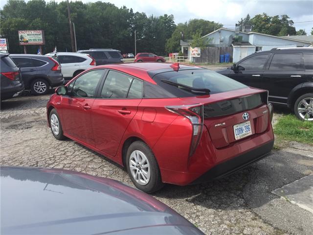 2016 Toyota Prius Base (Stk: -R07816) in Kincardine - Image 3 of 13