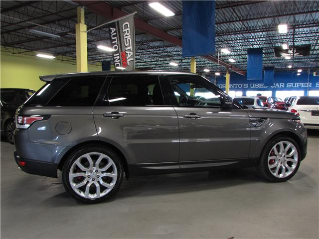 2015 Land Rover Range Rover Sport V8 Supercharged (Stk: c5366) in North York - Image 8 of 19