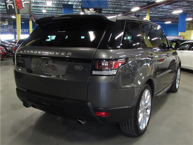 2015 Land Rover Range Rover Sport V8 Supercharged (Stk: C5366) in North York - Image 9 of 19
