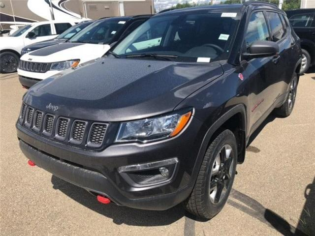 2018 Jeep Compass Trailhawk (Stk: 18CP3711) in Devon - Image 1 of 14