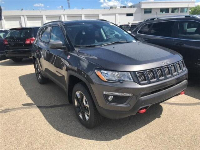 2018 Jeep Compass Trailhawk (Stk: 18CP3711) in Devon - Image 3 of 14