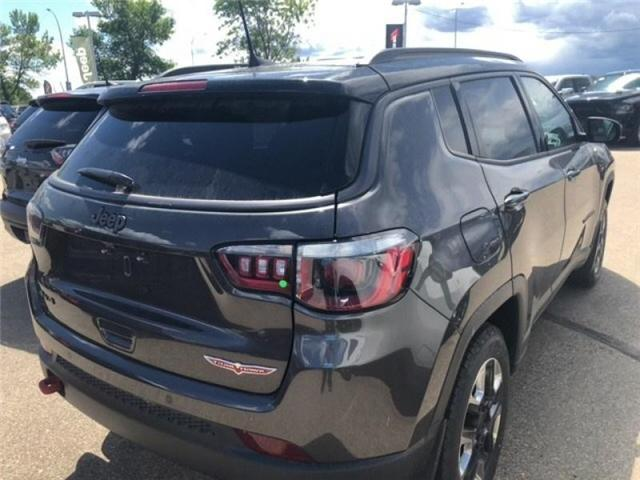 2018 Jeep Compass Trailhawk (Stk: 18CP3711) in Devon - Image 6 of 14