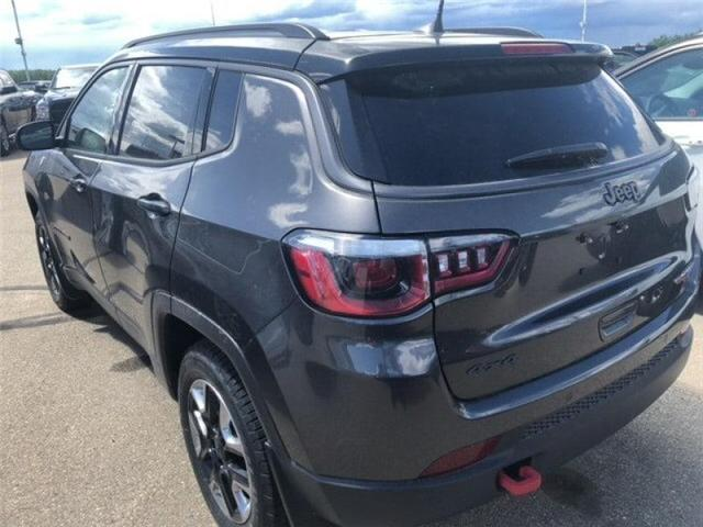 2018 Jeep Compass Trailhawk (Stk: 18CP3711) in Devon - Image 9 of 14