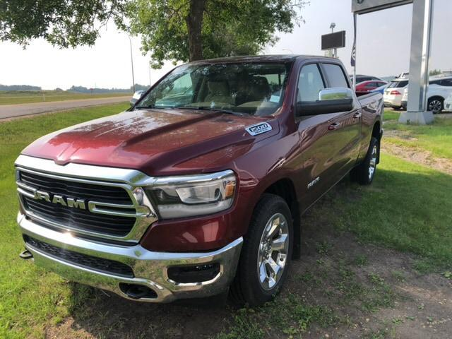 2019 RAM 1500 Big Horn (Stk: 19R17621) in Devon - Image 1 of 18