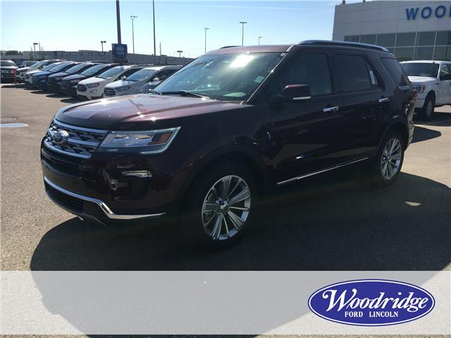 2018 Ford Explorer Limited (Stk: J-2439) in Calgary - Image 1 of 5