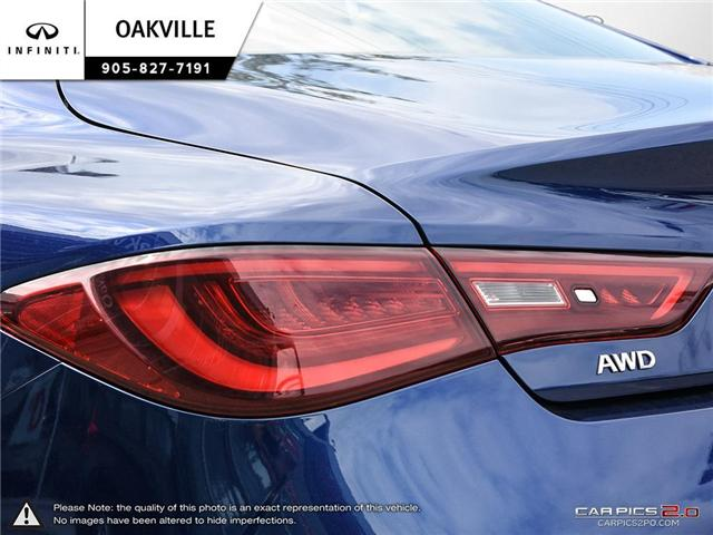 2017 Infiniti Q60 3.0T (Stk: Q17009A) in Oakville - Image 11 of 20