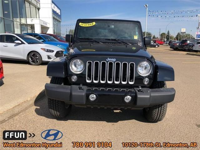 2017 Jeep Wrangler Unlimited Sahara (Stk: E4062) in Edmonton - Image 3 of 22