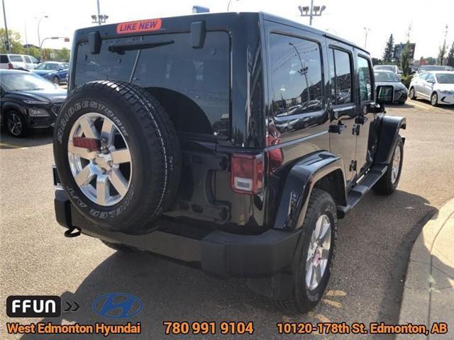 2017 Jeep Wrangler Unlimited Sahara (Stk: E4062) in Edmonton - Image 6 of 22