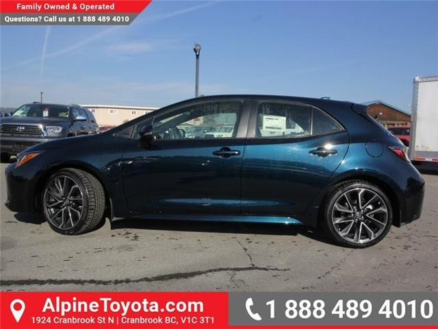 2019 Toyota Corolla Hatchback SE Upgrade Package (Stk: 3009533) in Cranbrook - Image 2 of 17