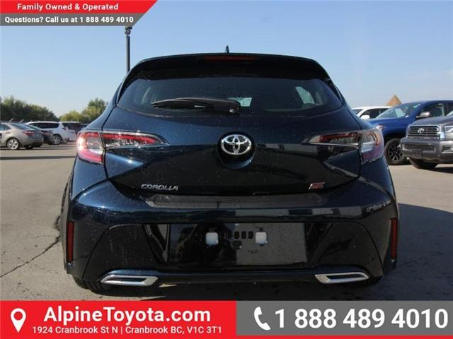 2019 Toyota Corolla Hatchback SE Upgrade Package (Stk: 3009533) in Cranbrook - Image 4 of 17