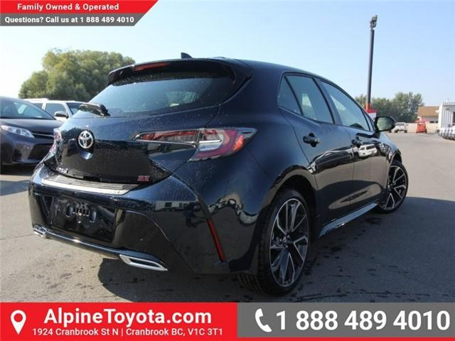 2019 Toyota Corolla Hatchback SE Upgrade Package (Stk: 3009533) in Cranbrook - Image 5 of 17